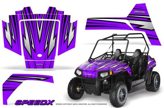 Polaris RZR170 CREATORX Graphics Kit SpeedX Purple 570x376 - Polaris Youth RZR 170 Graphics