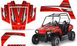 Polaris RZR170 CREATORX Graphics Kit SpeedX Red 150x90 - Polaris Youth RZR 170 Graphics