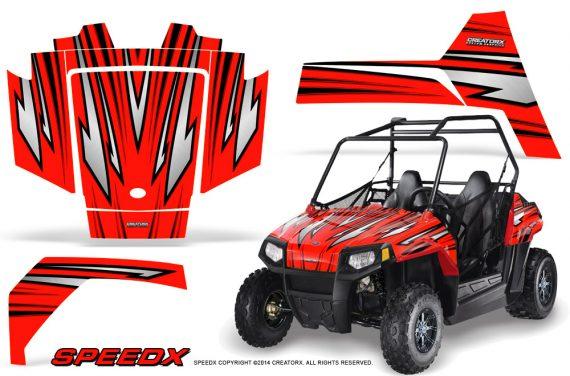 Polaris RZR170 CREATORX Graphics Kit SpeedX Red 570x376 - Polaris Youth RZR 170 Graphics