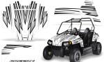 Polaris RZR170 CREATORX Graphics Kit SpeedX White 150x90 - Polaris Youth RZR 170 Graphics