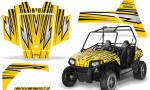Polaris RZR170 CREATORX Graphics Kit SpeedX Yellow 150x90 - Polaris Youth RZR 170 Graphics