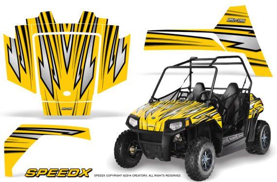 Polaris RZR170 CREATORX Graphics Kit SpeedX Yellow 570x376 - Polaris Youth RZR 170 Graphics