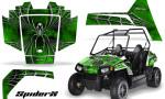 Polaris RZR170 CREATORX Graphics Kit SpiderX Green 150x90 - Polaris Youth RZR 170 Graphics