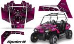 Polaris RZR170 CREATORX Graphics Kit SpiderX Pink 150x90 - Polaris Youth RZR 170 Graphics