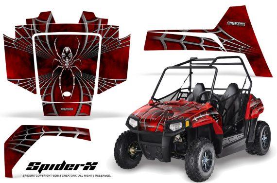Polaris RZR170 CREATORX Graphics Kit SpiderX Red 570x376 - Polaris Youth RZR 170 Graphics