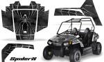 Polaris RZR170 CREATORX Graphics Kit SpiderX Silver 150x90 - Polaris Youth RZR 170 Graphics