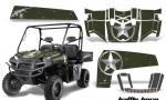 Polaris Ranger XP 10 AMR Graphic Kit BB 150x90 - Polaris Ranger XP 500 800 900D 4x4 EFI 2010-2014 Graphics