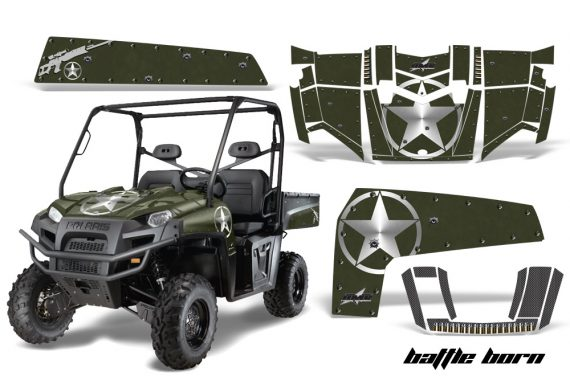 Polaris Ranger XP 10 AMR Graphic Kit BB 570x376 - Polaris Ranger XP 500 800 900D 4x4 EFI 2010-2014 Graphics