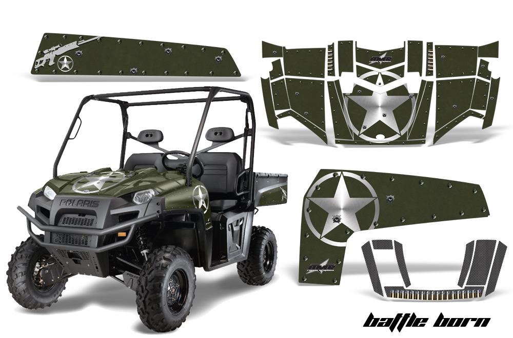Polaris Ranger XP 500 800 900D 4x4 EFI 2010-2014 Graphics