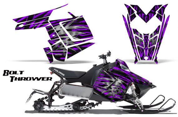Polaris Rush CreatorX Graphics Kit Bolt Thrower Purple 570x376 - Polaris PRO RMK RUSH 2011-2014 Graphics