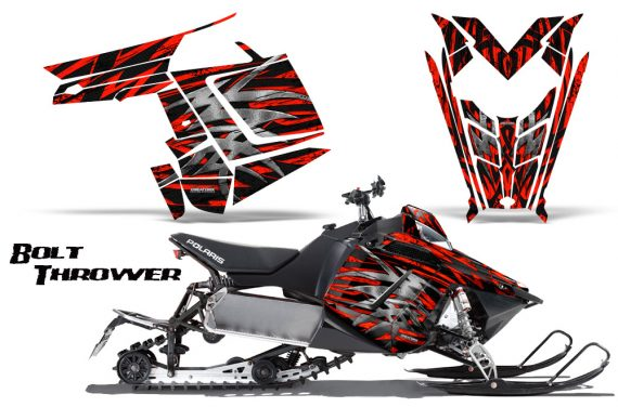 Polaris Rush CreatorX Graphics Kit Bolt Thrower Red BB 570x376 - Polaris PRO RMK RUSH 2011-2014 Graphics