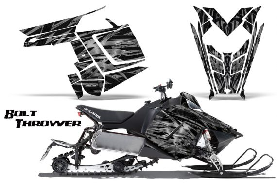 Polaris Rush CreatorX Graphics Kit Bolt Thrower Silver 570x376 - Polaris PRO RMK RUSH 2011-2014 Graphics
