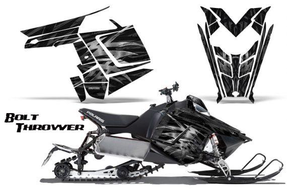 Polaris Rush CreatorX Graphics Kit Bolt Thrower SilverDark 570x376 - Polaris PRO RMK RUSH 2011-2014 Graphics