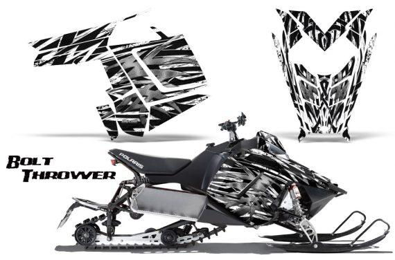 Polaris Rush CreatorX Graphics Kit Bolt Thrower White BB 570x376 - Polaris PRO RMK RUSH 2011-2014 Graphics