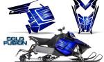 Polaris Rush CreatorX Graphics Kit Cold Fusion Blue 150x90 - Polaris PRO RMK RUSH 2011-2014 Graphics