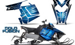 Polaris Rush CreatorX Graphics Kit Cold Fusion BlueIce 150x90 - Polaris PRO RMK RUSH 2011-2014 Graphics