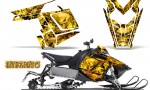Polaris Rush CreatorX Graphics Kit Inferno Yellow 150x90 - Polaris PRO RMK RUSH 2011-2014 Graphics