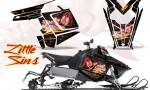 Polaris Rush CreatorX Graphics Kit Little Sins Black 150x90 - Polaris PRO RMK RUSH 2011-2014 Graphics