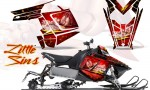 Polaris Rush CreatorX Graphics Kit Little Sins Red 150x90 - Polaris PRO RMK RUSH 2011-2014 Graphics