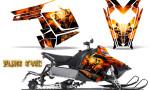 Polaris Rush CreatorX Graphics Kit Pure Evil 150x90 - Polaris PRO RMK RUSH 2011-2014 Graphics