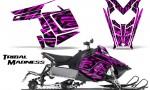Polaris Rush CreatorX Graphics Kit Tribal Madness Pink 150x90 - Polaris PRO RMK RUSH 2011-2014 Graphics