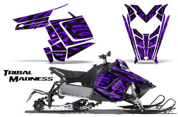 Polaris Rush CreatorX Graphics Kit Tribal Madness Purple 570x376 - Polaris PRO RMK RUSH 2011-2014 Graphics