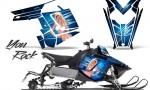 Polaris Rush CreatorX Graphics Kit You Rock BlueIce 150x90 - Polaris PRO RMK RUSH 2011-2014 Graphics