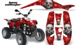 Polaris Scrambler 500 Trlblazer 350 AMR Graphics BoneCollector Red 150x90 - Polaris Scrambler Trailblazer 1985-2009 Graphics