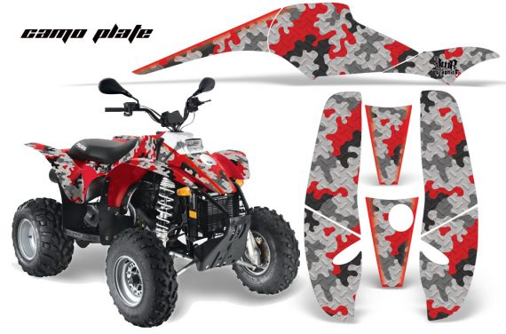 Polaris Scrambler 500 Trlblazer 350 AMR Graphics CamoPlate Red 570x376 - Polaris Scrambler Trailblazer 1985-2009 Graphics