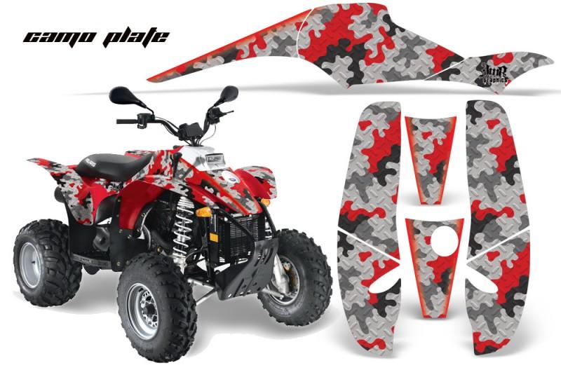 Polaris-Scrambler-500-Trlblazer-350-AMR-Graphics-CamoPlate-Red