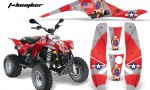 Polaris Scrambler 500 Trlblazer 350 AMR Graphics TBomber Red 150x90 - Polaris Scrambler Trailblazer 1985-2009 Graphics