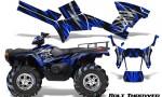 Polaris Sportsman 05 10 CreatorX Graphics Kit Bolt Thrower Blue 150x90 - Polaris Sportsman 400 500 600 700 800 2005-2010 Graphics