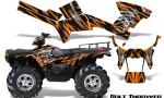 Polaris Sportsman 05 10 CreatorX Graphics Kit Bolt Thrower Orange 150x90 - Polaris Sportsman 400 500 600 700 800 2005-2010 Graphics