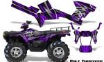 Polaris Sportsman 05 10 CreatorX Graphics Kit Bolt Thrower Purple 150x90 - Polaris Sportsman 400 500 600 700 800 2005-2010 Graphics