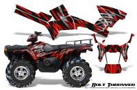 Polaris-Sportsman-05-10-CreatorX-Graphics-Kit-Bolt-Thrower-Red