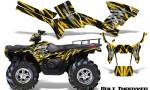 Polaris Sportsman 05 10 CreatorX Graphics Kit Bolt Thrower Yellow 150x90 - Polaris Sportsman 400 500 600 700 800 2005-2010 Graphics