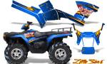 Polaris Sportsman 05 10 CreatorX Graphics Kit Little Sins Blue 150x90 - Polaris Sportsman 400 500 600 700 800 2005-2010 Graphics