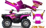 Polaris Sportsman 05 10 CreatorX Graphics Kit Little Sins Pink 150x90 - Polaris Sportsman 400 500 600 700 800 2005-2010 Graphics
