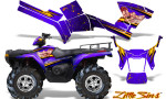 Polaris Sportsman 05 10 CreatorX Graphics Kit Little Sins Purple 150x90 - Polaris Sportsman 400 500 600 700 800 2005-2010 Graphics