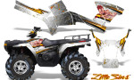 Polaris Sportsman 05 10 CreatorX Graphics Kit Little Sins White 150x90 - Polaris Sportsman 400 500 600 700 800 2005-2010 Graphics