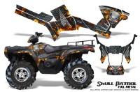 Polaris-Sportsman-05-10-CreatorX-Graphics-Kit-Skull-Patrol-Full-Metal