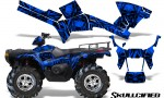 Polaris Sportsman 05 10 CreatorX Graphics Kit Skullcified Blue 150x90 - Polaris Sportsman 400 500 600 700 800 2005-2010 Graphics