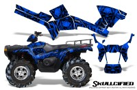 Polaris-Sportsman-05-10-CreatorX-Graphics-Kit-Skullcified-Blue