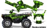 Polaris Sportsman 05 10 CreatorX Graphics Kit Skullcified Green 150x90 - Polaris Sportsman 400 500 600 700 800 2005-2010 Graphics