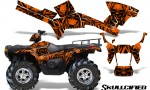 Polaris Sportsman 05 10 CreatorX Graphics Kit Skullcified Orange 150x90 - Polaris Sportsman 400 500 600 700 800 2005-2010 Graphics