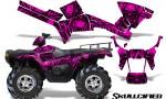 Polaris Sportsman 05 10 CreatorX Graphics Kit Skullcified Pink 150x90 - Polaris Sportsman 400 500 600 700 800 2005-2010 Graphics