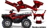 Polaris Sportsman 05 10 CreatorX Graphics Kit Skullcified Red 150x90 - Polaris Sportsman 400 500 600 700 800 2005-2010 Graphics