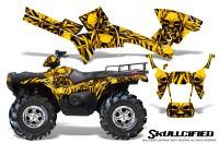 Polaris-Sportsman-05-10-CreatorX-Graphics-Kit-Skullcified-Yellow