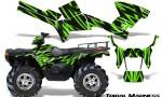 Polaris Sportsman 05 10 CreatorX Graphics Kit Tribal Madness Green 150x90 - Polaris Sportsman 400 500 600 700 800 2005-2010 Graphics