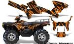 Polaris Sportsman 05 10 CreatorX Graphics Kit Tribal Madness Orange 150x90 - Polaris Sportsman 400 500 600 700 800 2005-2010 Graphics